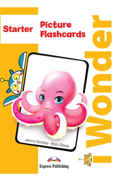 CURS LB. ENGLEZA I-WONDER STARTER PICTURE SI WORD FLASHCARDS 978-1-4715-7000-1