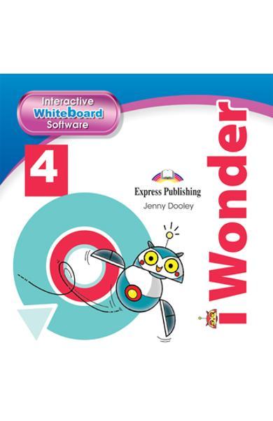CURS LB. ENGLEZA I-WONDER 4 SOFTWARE PENTRU TABLA MAGNETICA INTERACTIVA 978-1-4715-7055-1