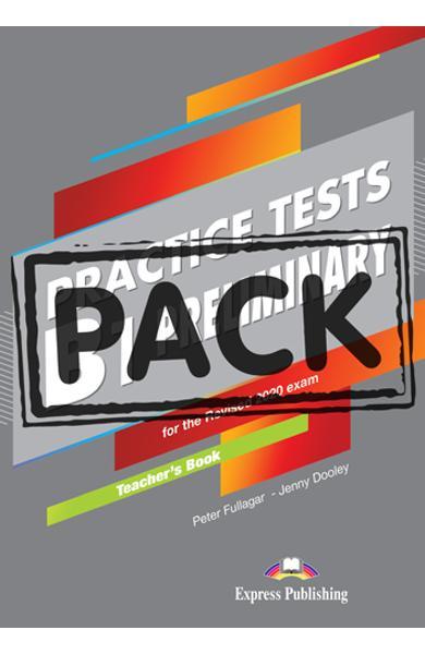 Curs limba engleza examen Cambridge B1 Preliminary Practice Tests for the Revised 2020 Exam Manualul profesorului + Digibooks App. 978-1-4715-8970-6