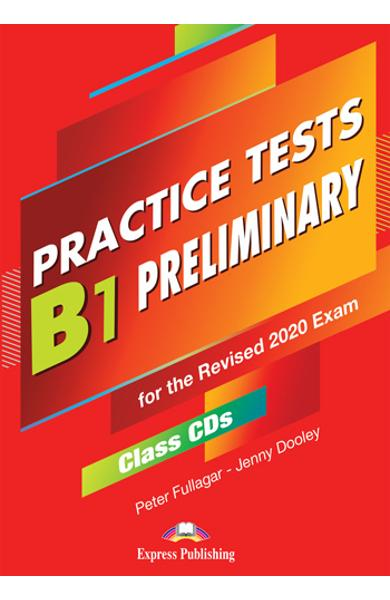 Curs limba engleza examen Cambridge B1 Preliminary Practice Tests for the Revised 2020 Exam Audio CD la manual ( set de 5 CD-uri ) 978-1-4715-8965-2