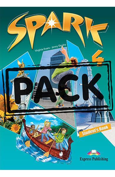 Curs limba engleza Spark 4 Monstertrackers Pachetul elevului ( manual + ieBook )  978-1-78098-066-9