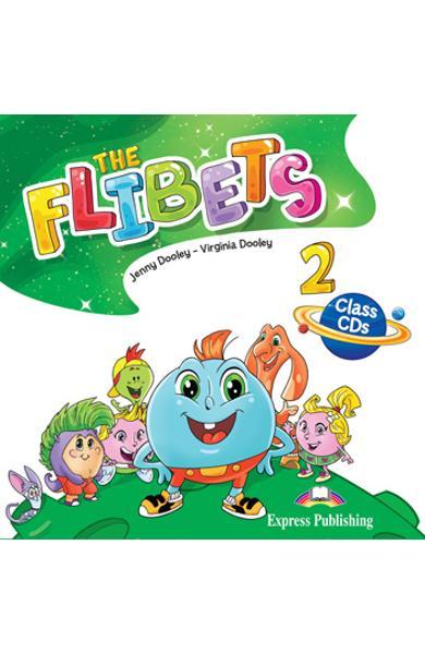 CURS LB. ENGLEZA THE FLIBETS 2 AUDIO CD MANUAL ( SET DE 2 CD-URI ) 978-1-4715-8950-8