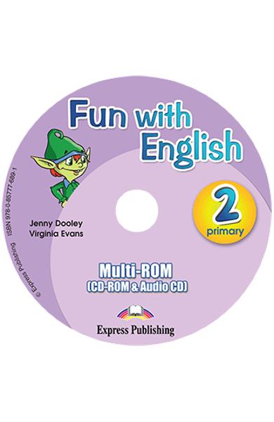 Fun with english 2 pachetul elevului ( set cu multi - rom)  978-0-85777-737-9